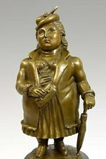 MODERN ART Künstler Bronze DICKE LADY signiert BOTERO