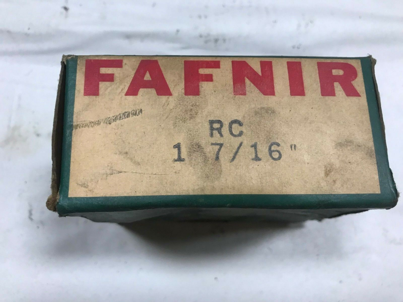 FAFNIR RC 1-7 16- 1-7 16  BALL BEARING CARTRIDGE UNIT