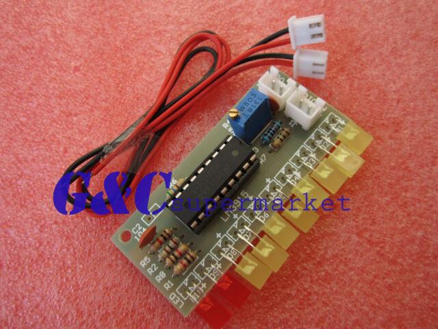 2pcs LM3915  10 segment audio level indicator DIY kit M54