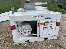 Gardner Denver Air Compressor 460 Volt Ede99l 40 Hp 125 Psi