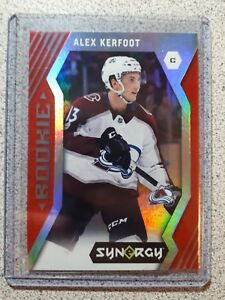 2017-18-Upper-Deck-Synergy-Rookie-Red-Alex-Kerfoot-Colorado-Avalanche