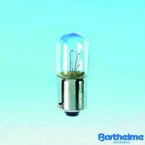 Barthelme Roehrenlampe KRL 10x28mm BA9s 30V 2W