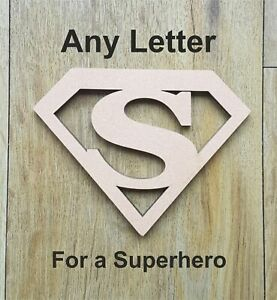 Superhero-MDF-Wooden-Letters-amp-Numbers-Choice-of-Heights-10cm-Large-60cm