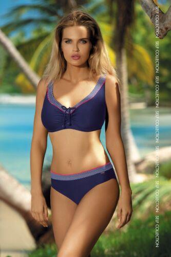 Mod.533 GR1 Schick /& Elegant Bikini mit Bügel SELF Gr.38-42,Cups C bis G Neu