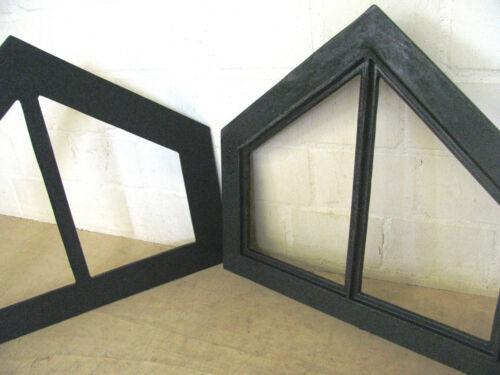 Gussfenster Super Qualität 58 x 52cm  ! Neu Gibelfenster Dreieck Stallfenster