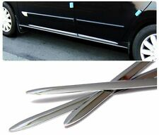 Door Trim Molding Side Garnish Chrome Sill 4p 1Set For FORD Universal Vehicle