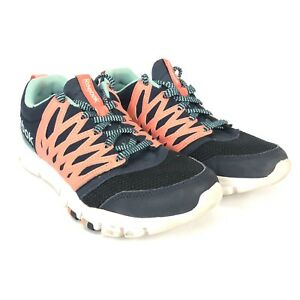 Details about Reebok Womens Yourflex Training Navy Pink Size 8 039501 914
