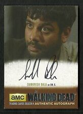2016 The Walking Dead Season 4 Part 1 Autograph Sunkrish Bala as Dr S SB1 SILVER