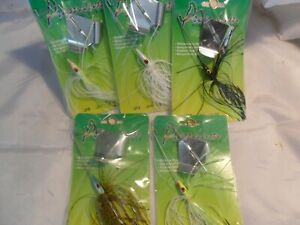 Multiple Colors Custom In Line Buzzbaits with choice of head size