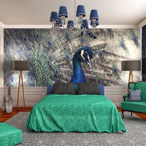 Papier peint toile de la fière paon-papier peint papiers peints photos pour chambre fdb162