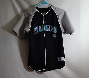 FLORIDA MARLINS MLB Baseball Jersey True Fan Size YOUTH MEDIUM 8 ... 53c184dcc