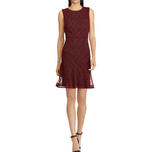AMERICAN LIVING NEW Women/'s Sleeveless Lace A-Line Dress TEDO