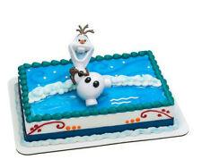 Frozen Movie Olaf figurine cake decoration Decoset cake topper set toy