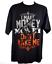 I-MAKE-MONEY-DON-039-T-MAKE-ME-Black-T-Shirt-Black-Orange-and-Grey thumbnail 1