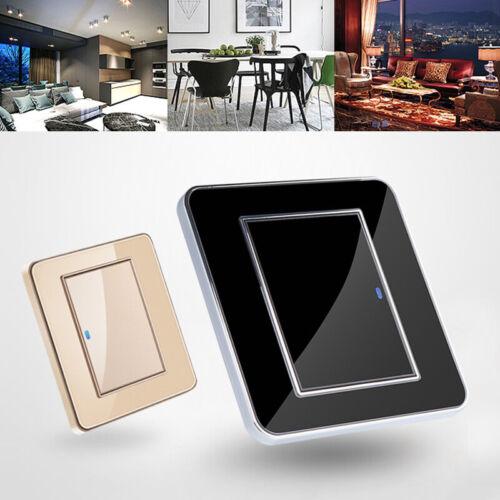 Wandhalterung Stück Touch Panel LED Dimmer Schalter Helligkeit Regler 220-250V