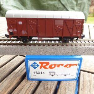 Roco-46014-couvert-wagons-Gkks-de-la-DB-ep-4-NEUF-dans-neuf-dans-sa-boite