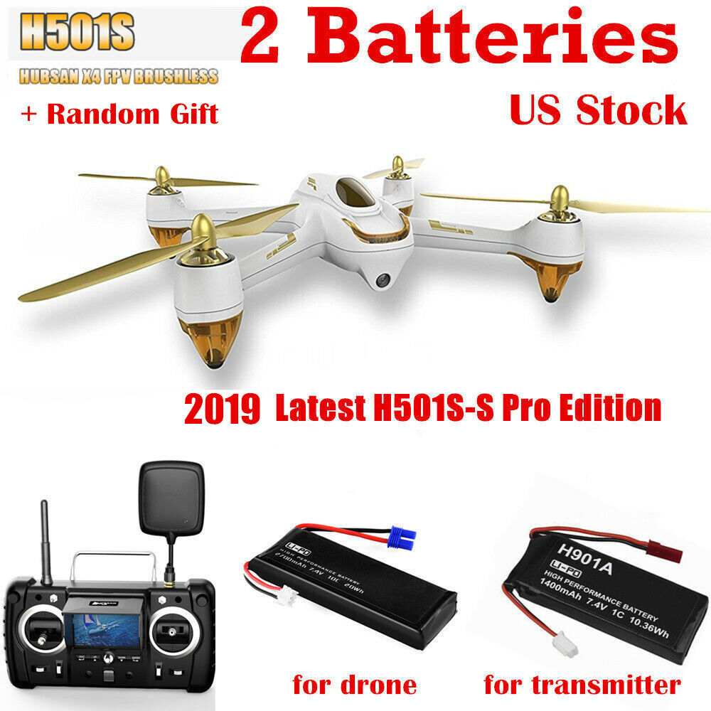Hubsan H501SS Pro X4 Drone W  FPV GPS Brushless Motor 1080P telecamera RTH +Gift RTF