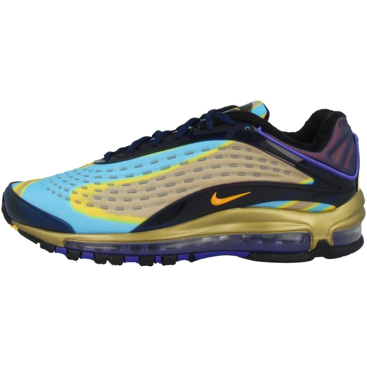 Nike Air Sport Max Deluxe Schuhe Herren Sport Air Freizeit Sneaker navy orange AJ7831-400 63b422