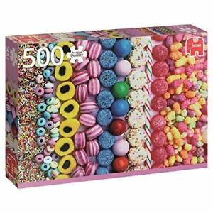 Jumbo-Jumbo-Premium-Puzzle-Collection-039-Sweets-039-500-Piece-Jigsaw-Puzzle