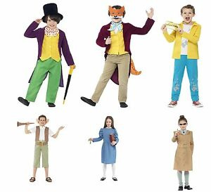 Image Is Loading Kids Roald Dahl Book Week Character Childrens Boys