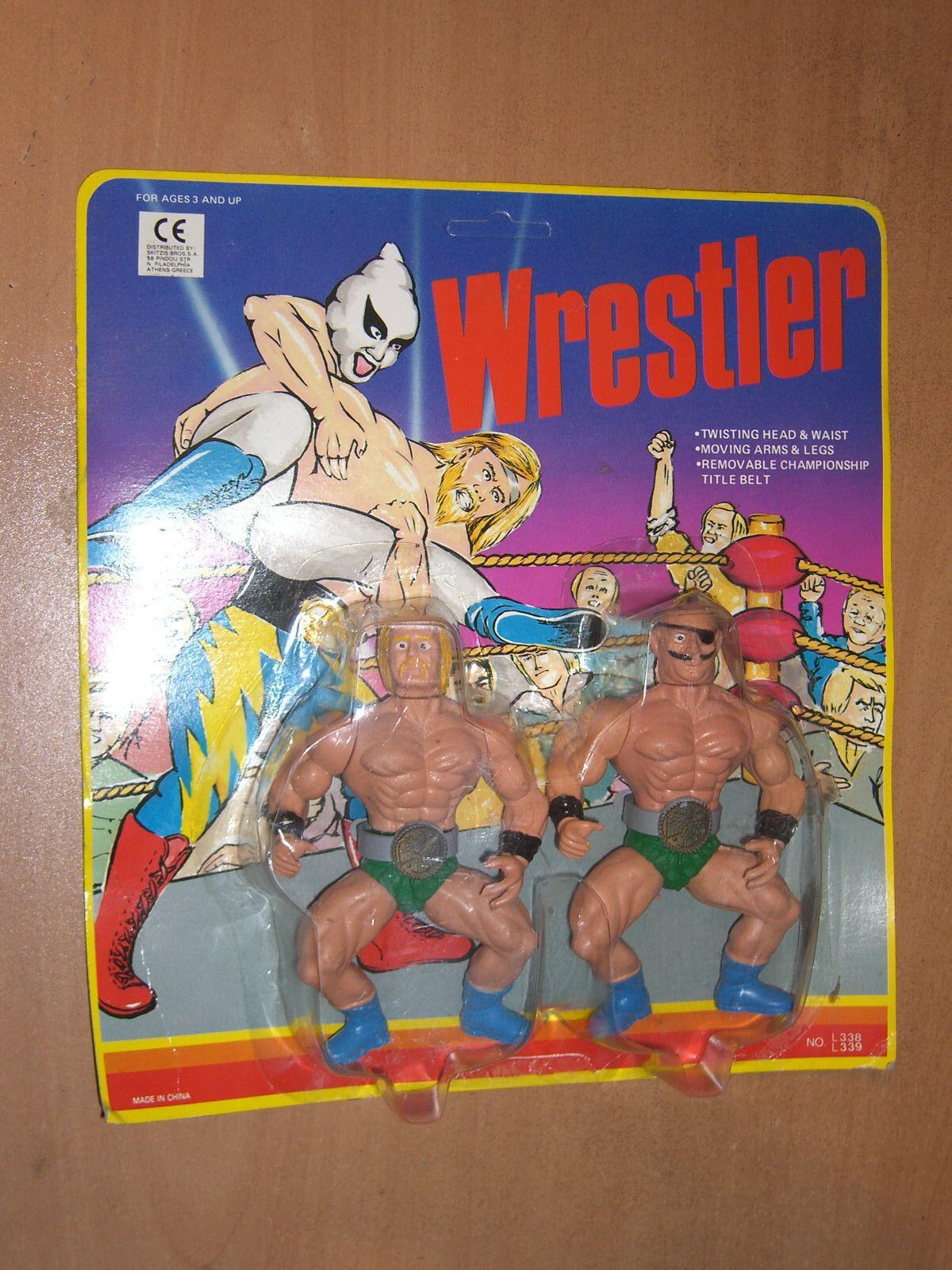 80'S VINTAGE WWF FIGURE WRESTLER CHAMPION MOC ULTRA RARE MOTU KO SGI 8