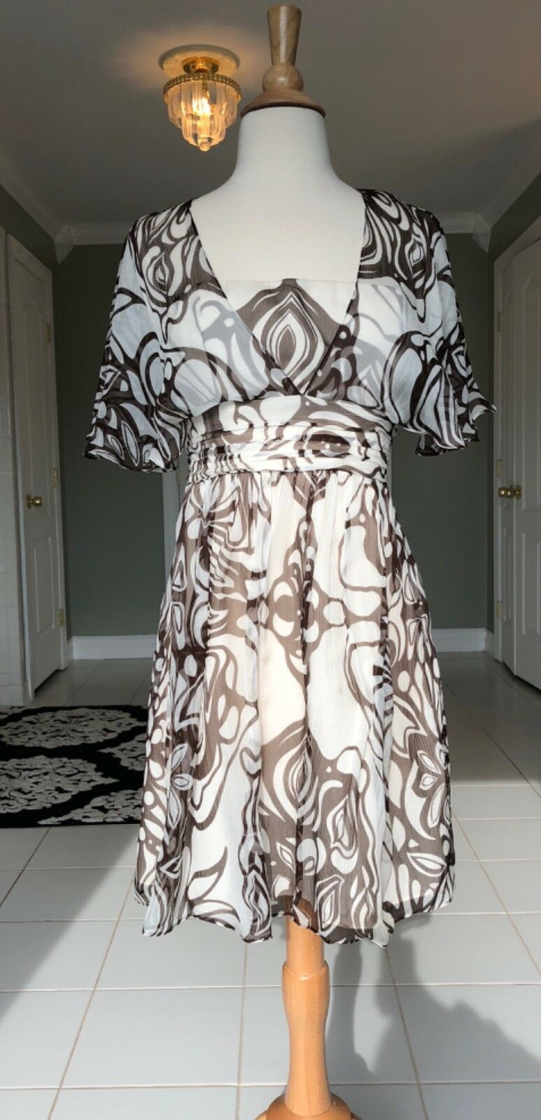 Beautiful Milly Silk Dress Size 6