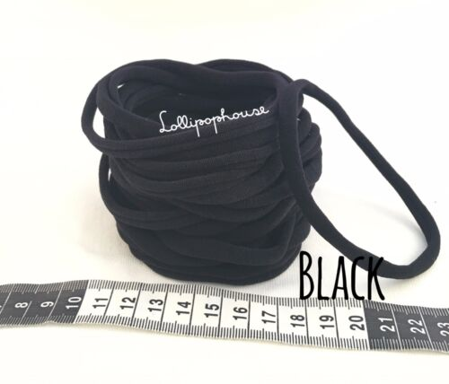 bulk nylon headband Skinny 100 Wholesale Nylon Headbands One Size fits all