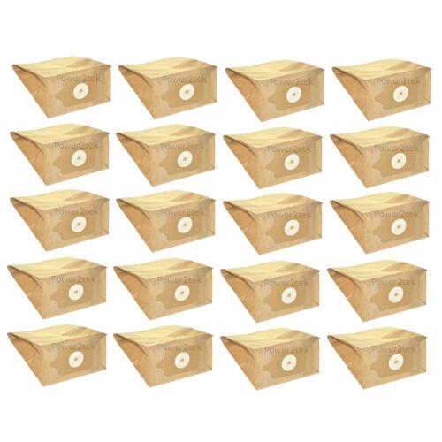 20 x NVM1B NVM1C//2 Hoover Bags for Numatic JAMES JAMES JVP180 JVC235 UK Stock