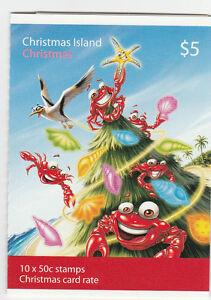 2008 Christmas Island Australia, SG SB 2, Self Adhesive, Christmas Stamps | eBay
