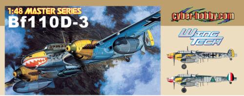 DRAGON CYBER-HOBBY 5555 Meserschmitt Bf110D-3