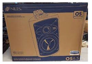 Niles-OS6-5-Indoor-Outdoor-2-Way-Loudspeaker-w-6-034-Carbon-Woofer-Pair-White