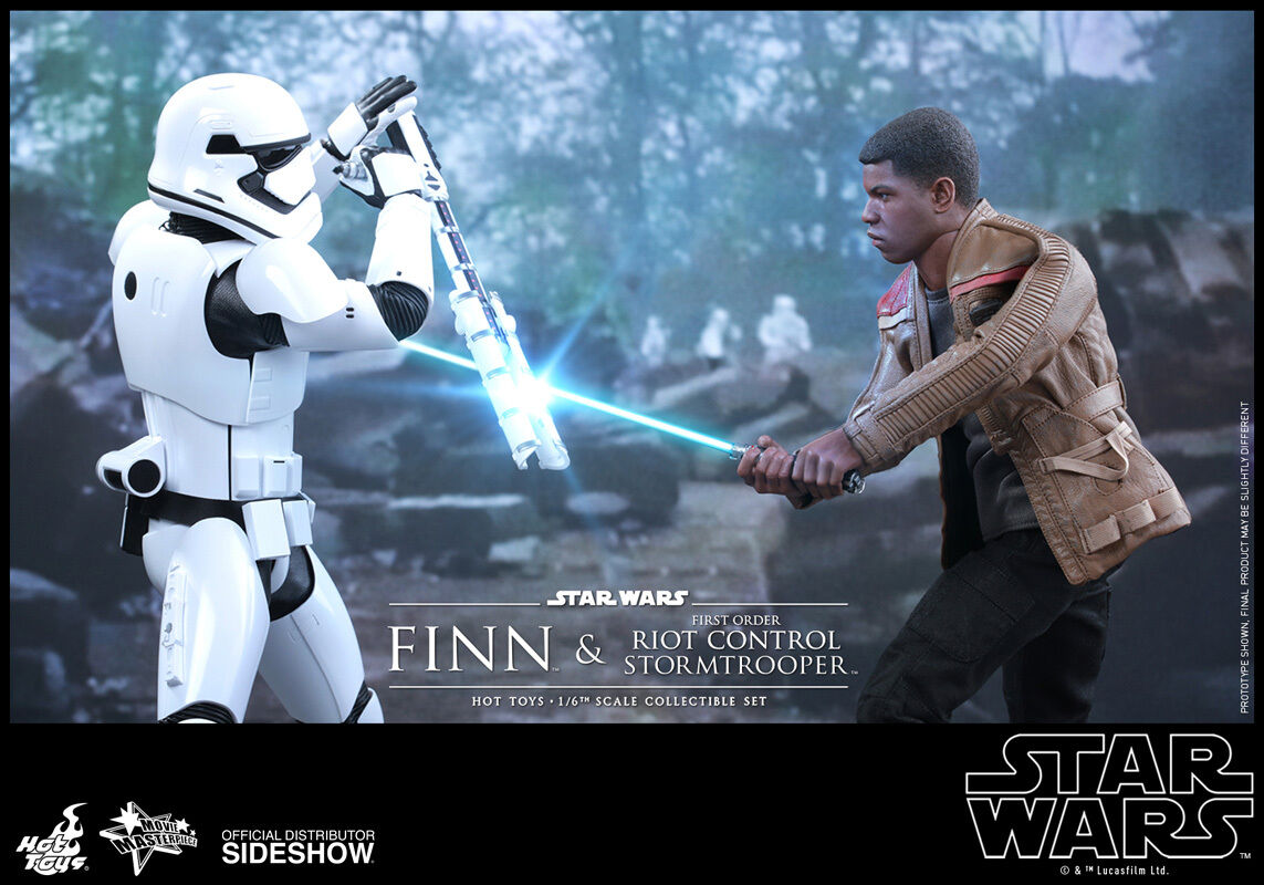 STAR WARS:EPISODE VII-FINN VII-FINN VII-FINN and RIOT DELUXE SET 1/6 Action Figure 12