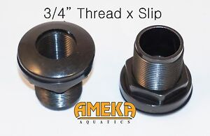 3-4-034-0-75-034-Thread-X-Slip-Quality-Bulkhead-Fitting-by-CPR-with-Silicone-Washer