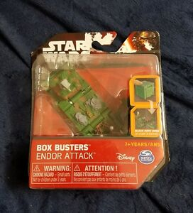 Star-Wars-box-Busters-endoor-attack-Disney-Game-Cube-spin-master