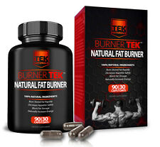 BurnerTEK Natural Fat Burner, 90 Capsule, 30 Day Supply, Free Shipping, #1 Rated
