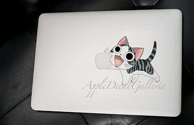 Chi Sweet Home Cat Decal Sticker Skin Decals for Macbook Pro Air 11 13 15 17 CC