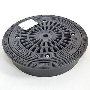 kunststoff schachtabdeckung schachtdeckel rund dn300 teleskopabdeckung a15 747726516957 ebay. Black Bedroom Furniture Sets. Home Design Ideas