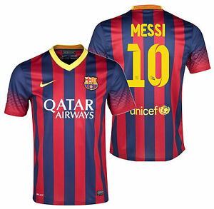 3159acf3f6e2 Image is loading NIKE-LIONEL-MESSI-FC-BARCELONA-HOME-JERSEY-2013-