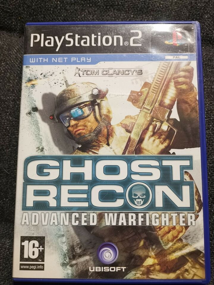 Ghost Recon Advanced Warfighter, PS2, FPS