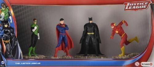 the Flash DC Justice League Figures Set Of 4 2x Batman Superman