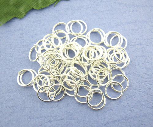 4 mm à cintrer Anneaux 100 pièces Open Jump Ring federring verbindungsring