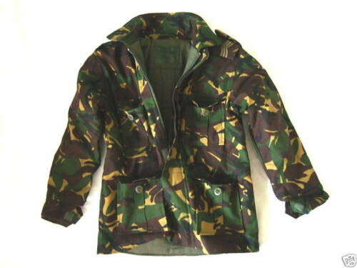BOYS 3-4 years CAMO PADDED SOLDIER JACKET Military combat coat army green DPM