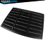 For-05-14-Ford-Mustang-GT-V6-V8-Rear-Window-Louver-Matte-Black-Cover-ABS miniature 4