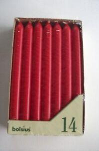 Stabkerzen-Tafelkerzen-rot-von-Bolsius-14-Stueck