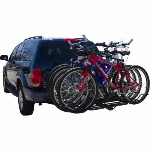 "2 To 4 Bike Rack Swing DOWN 2/"" Receiver Attelage Monté Porte-vélo"
