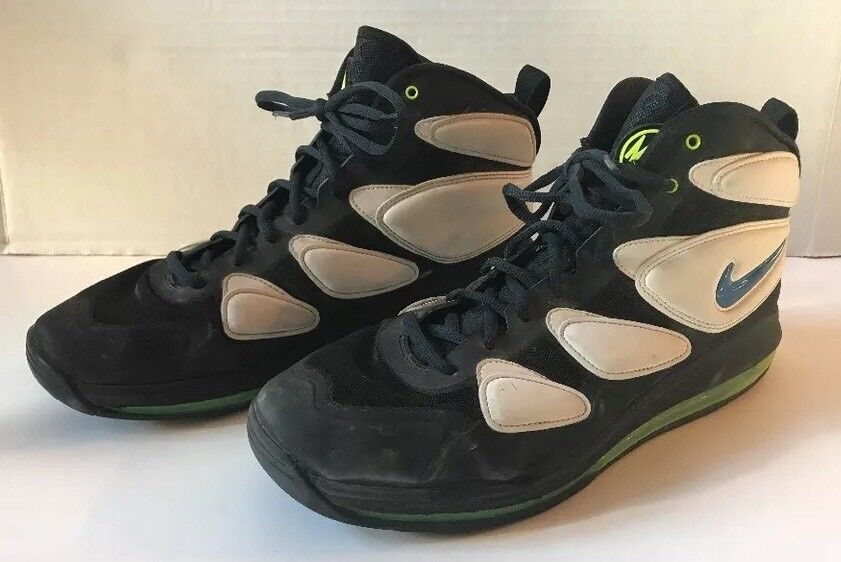 Mens Nike Air Max 2 Size 12 Black and White Basketball Athletic shoes