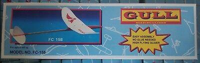 Funcraft Gull Soaring Glider Model Plane Kit FC-158