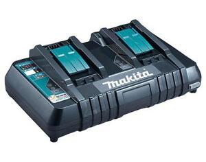 Makita-DC18RD-7-2v-18v-LXT-de-doble-puerto-cargador-rapido-de-pilas-USB-230-V