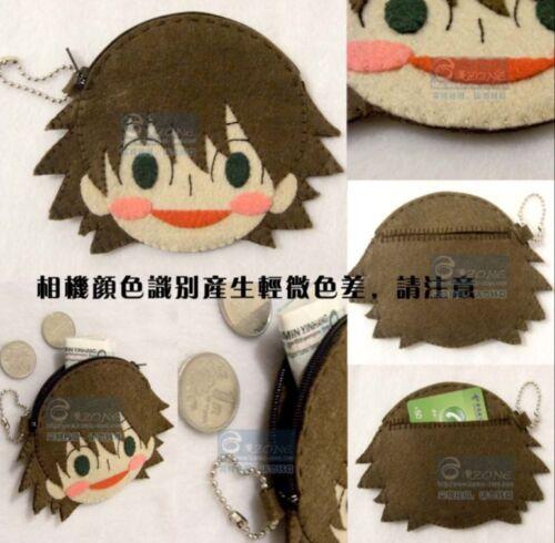 Junjou Junjo Romantica Pure Romance Keychain Key rings Coin purse DIY Material