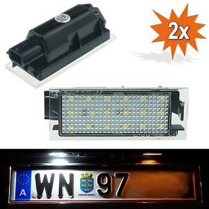 Kennzeichenleuchte Leuchte Beleuchtung Nummernschild Kennzeichen Twingo Clio